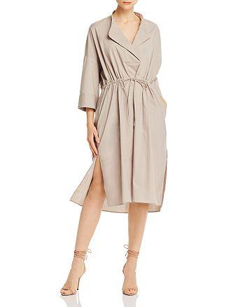 FRENCH CONNECTION - Adoni Cotton Poplin Midi Dress
