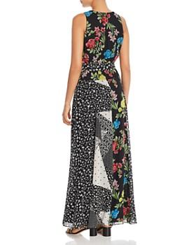 Calvin Klein - Sleeveless Patchwork Maxi Dress