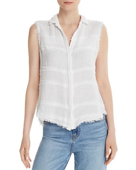 Bella Dahl - Frayed Button-Down Top