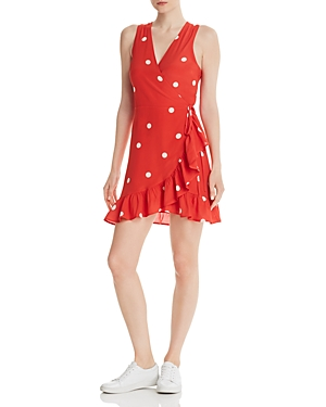 Rails Madison Polka Dot Wrap Dress