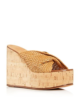 Casadei - Women's Platform Wedge Sandals