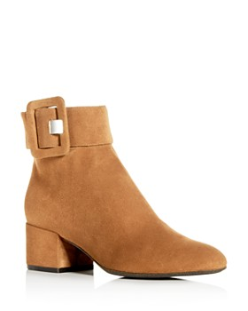 Sergio Rossi - Women's Mia Block-Heel Booties - 100% Exclusive