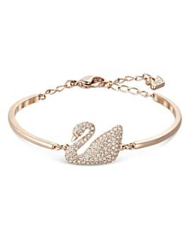 Swarovski - Swan Bangle Bracelet