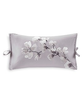 "Natori - Sakura Blossom Oblong Decorative Pillow, 12"" x 20"""
