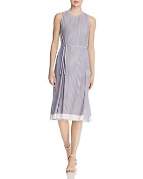 BOSS - Enadira Sleeveless Pleated Dress