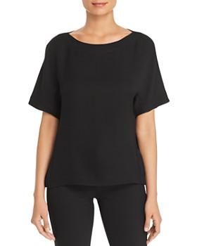 Lafayette 148 New York - Palatina Short-Sleeve Silk Top