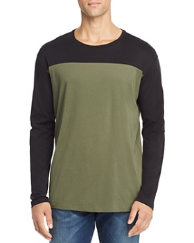 ATM Anthony Thomas Melillo - Long-Sleeve Colorblock Tee