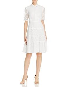 nanette Nanette Lepore - Lace Shirt Dress