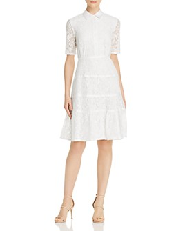 nanette Nanette Lepore - Lace Shirt Dress