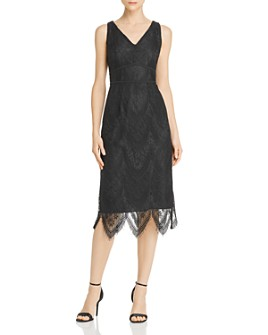 nanette Nanette Lepore - Lace Sheath Dress