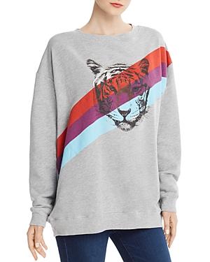 Wildfox T-shirts TIGER SWEATSHIRT - 100% EXCLUSIVE