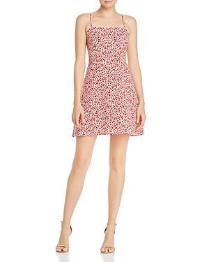 Aqua Ditsy Floral Mini Dress - 100% Exclusive