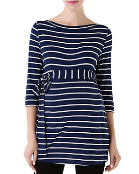 Kimi & Kai - Striped Maternity Top