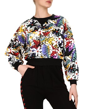 The Kooples - Honolulu Floral-Print Sweatshirt