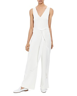 Theory - Wide-Leg Knit Jumpsuit