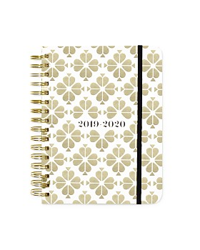 kate spade new york - Large 17-Month Planner, Gold Spade Floral