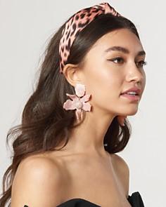 Lele Sadoughi - Cheetah Print Knot Headband