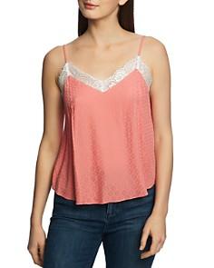 1.STATE - Lace-Trim Camisole Top