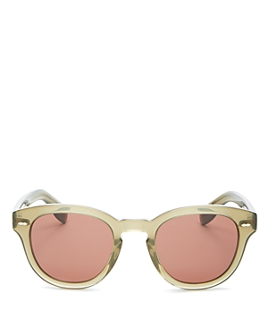 Oliver Peoples Unisex Cary Grant Round Sunglasses, 48mm