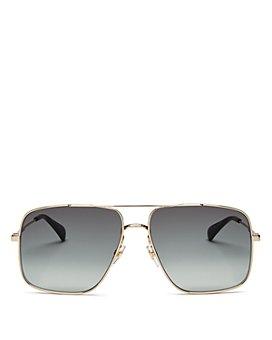 Givenchy - Men's Brow Bar Aviator Sunglasses, 69mm
