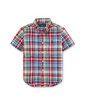 Ralph Lauren - Boys' Madras Camp Shirt - Little Kid