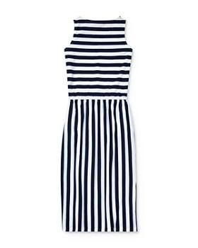 Ralph Lauren - Girls' Striped Maxi Dress - Big Kid