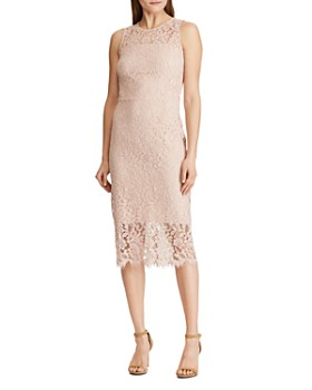 Ralph Lauren - Lace Midi Dress