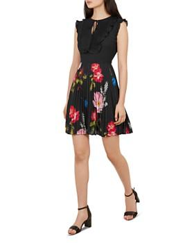 e5d1fc7eaf16 Ted Baker - Romanna Berry Sundae Floral Dress ...