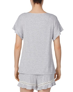 kate spade new york - Lace-Inset Pajama Set