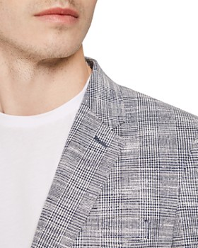 REISS - Ment Modern Checked Contemporary Fit Blazer