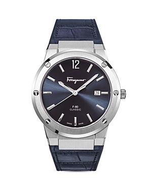 Salvatore Ferragamo F-80 Slim Watch, 41mm