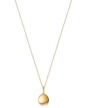 Bloomingdale's Teardrop Pendant Necklace in 14K Yellow Gold, 18 - 100% Exclusive