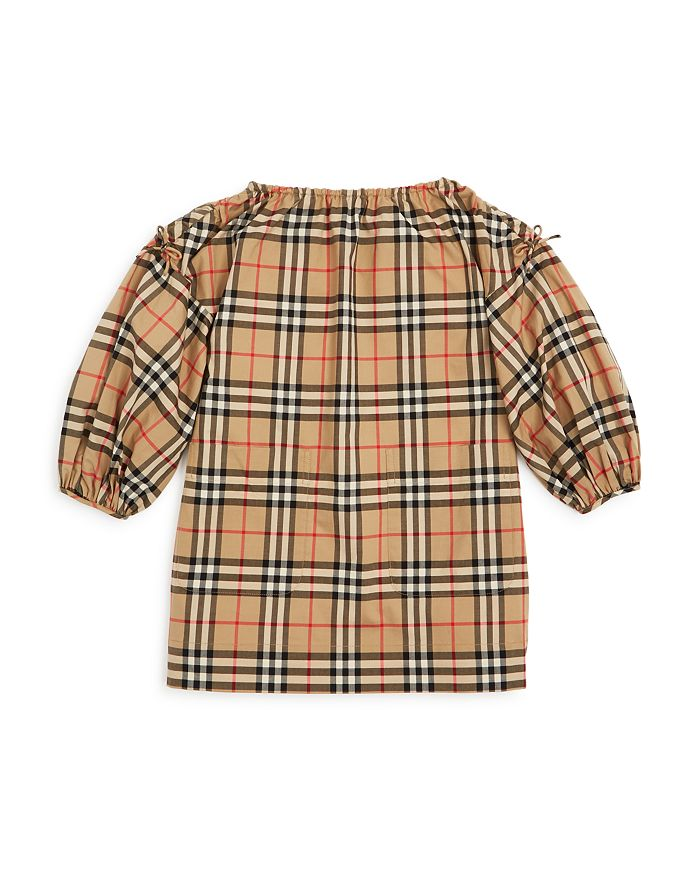 Burberry - Girls' Alenka Check Dress - Little Kid, Big Kid