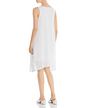 Donna Karan - Sleeveless Knit Shift Dress