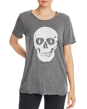 CHASER - Skull Graphic Tee