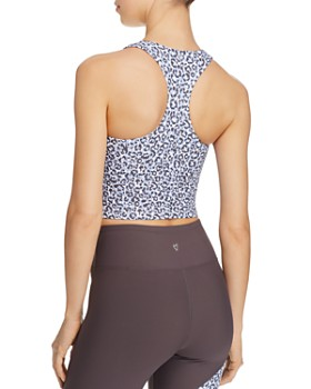 Betsey Johnson - Leopard-Print Cropped Top
