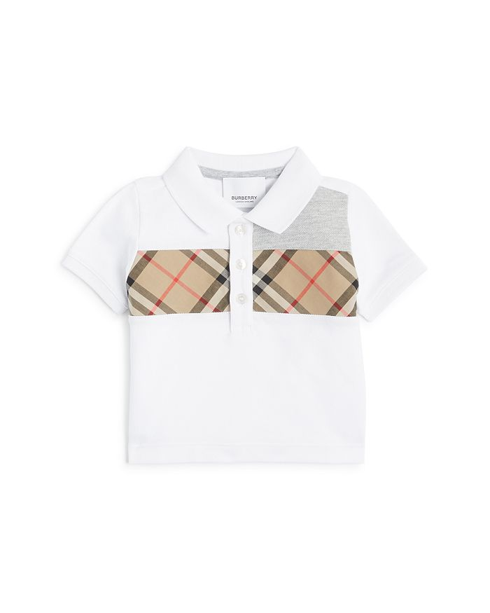 Burberry - Boys' Mini Jeff Polo Shirt - Baby