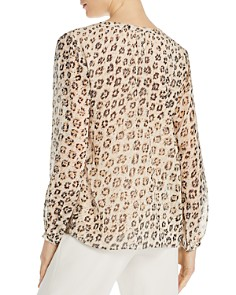 Joie - Cordell Leopard-Printed Silk Blouse