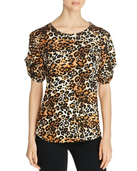Alison Andrews - Leopard-Print Top