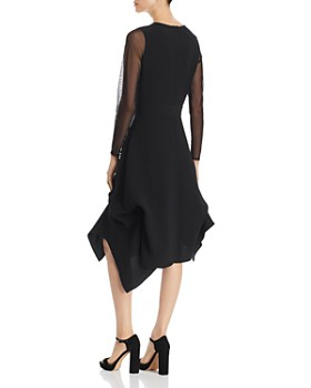 SNIDER - Catherine Mesh-Trim Dress