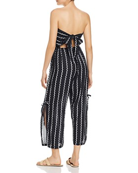 Tiare Hawaii - Osaka Rickrack-Effect Cropped Jumpsuit