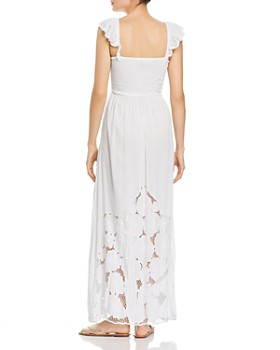Tiare Hawaii - Hollie Crocheted-Hem Maxi Dress