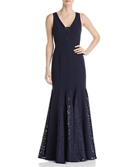 Eliza J - Lace Godet Gown