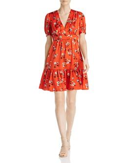 Jill Jill Stuart - Floral Mini Dress