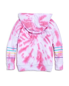 CHASER - Girls' Tie-Dyed Heart Hoodie - Big Kid