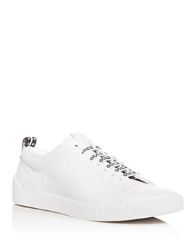 info for a0da8 6bb53 HUGO - Men s Zero Leather Low-Top Sneakers ...