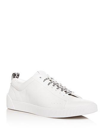HUGO - Men's Zero Leather Low-Top Sneakers