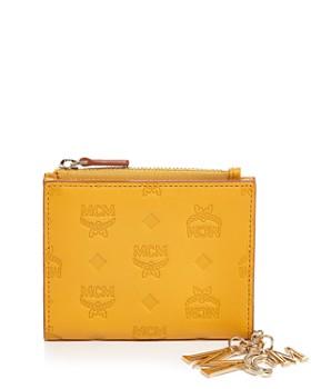 MCM - Klara Monogrammed Leather Charm Bifold Wallet