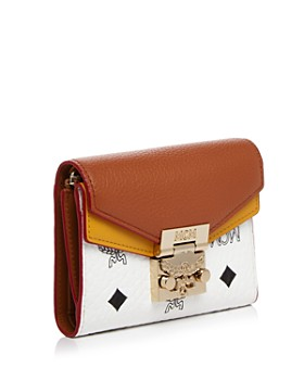 MCM - Patricia Visetos Leather Wallet