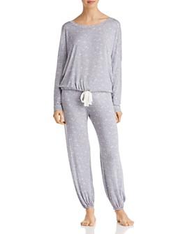 Eberjey - Moon Dots Slouchy Pajama Set
